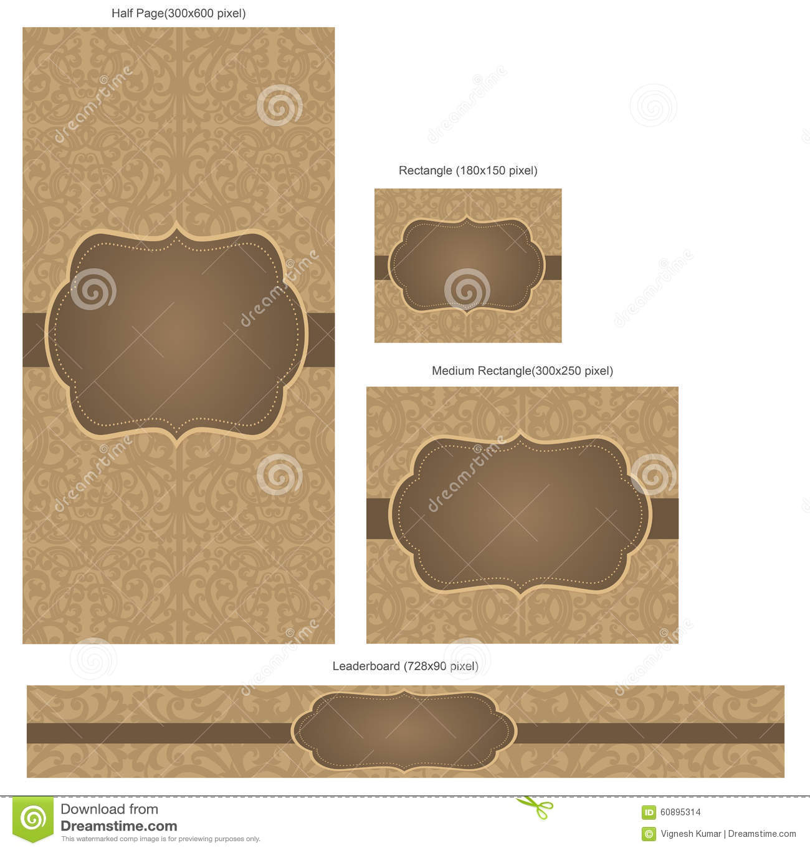 Banners Pack1 Stock Illustration Illustration Of Decorative