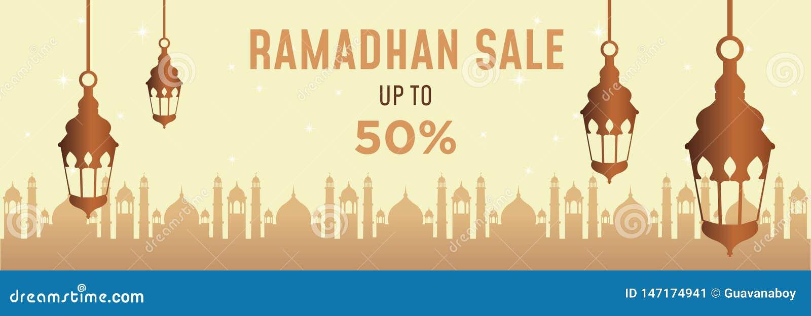 Bannière début de Ramadan