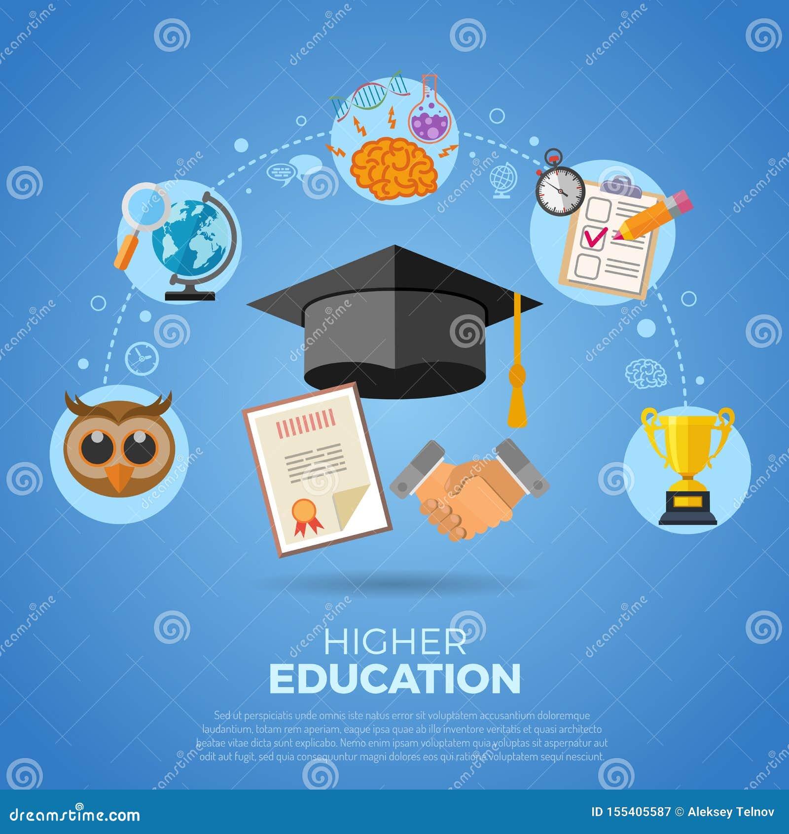 Bannière d enseignement supérieur