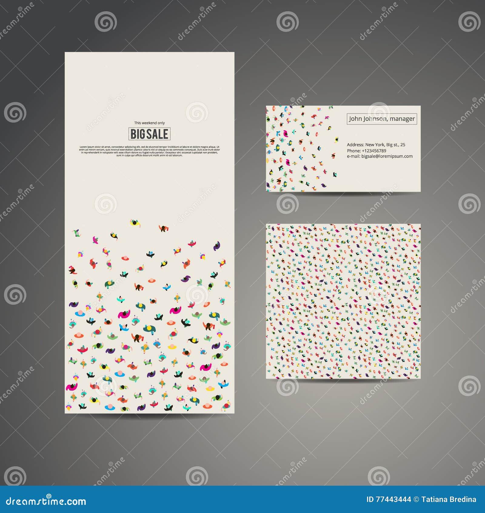 Bannire D Insecte De Brochure Affaires Carte Visite Professionnelle Et