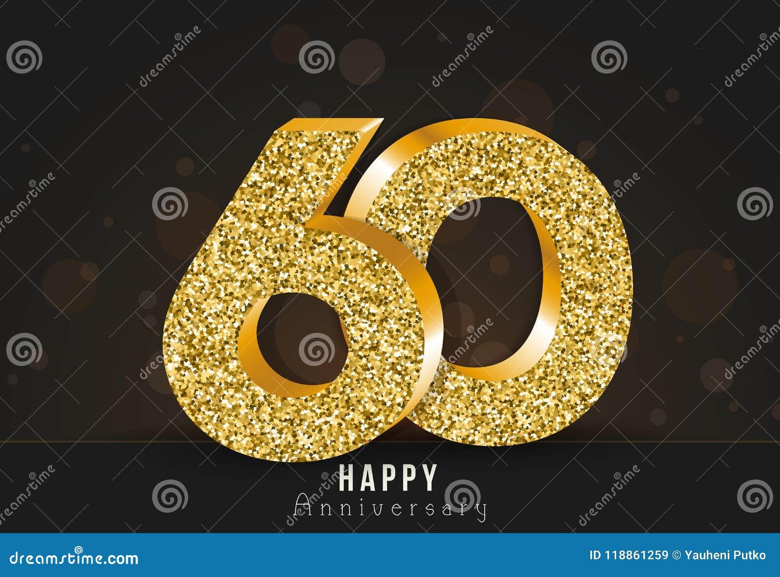 20 - bannière heureuse d anniversaire d année 20ème logo d or d anniversaire sur le fond foncé