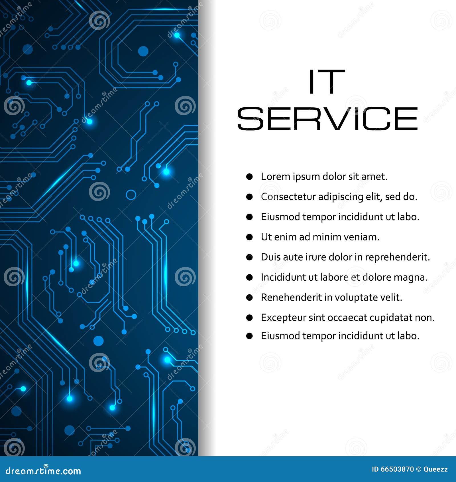 Fabuleux Bannière Informatique De Vecteur De Service Peut être Employé Pour  UP09