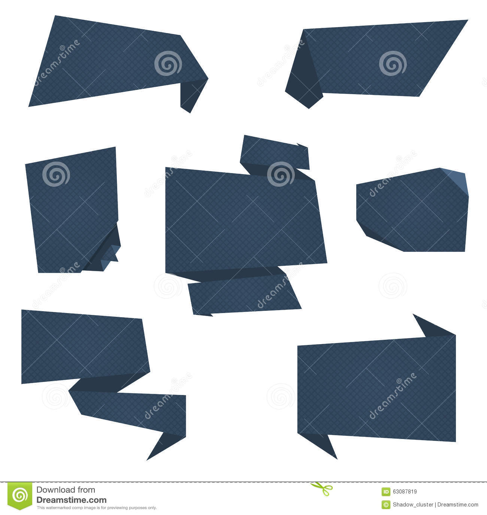 Download Bannières Plates De Vecteur Illustration de Vecteur - Illustration du carton, célébration: 63087819