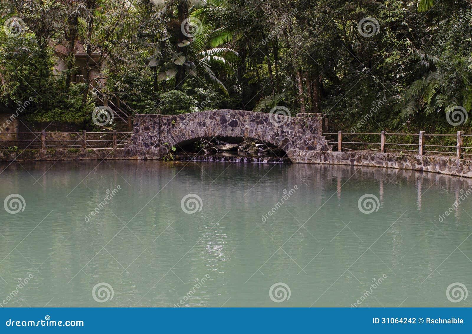 Bano grande pool el yunque puerto rico stock photography for Bano grande puerto rico