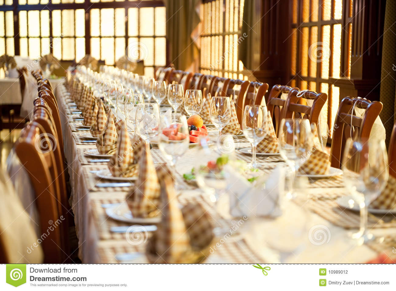 Banquet Hall Stock Photography - Image: 10989012