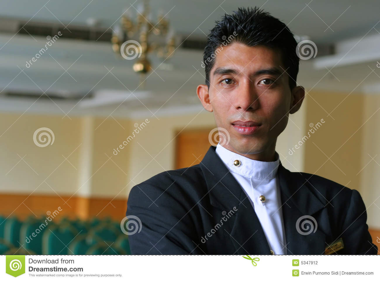 banquet manager stock photography image 5347912