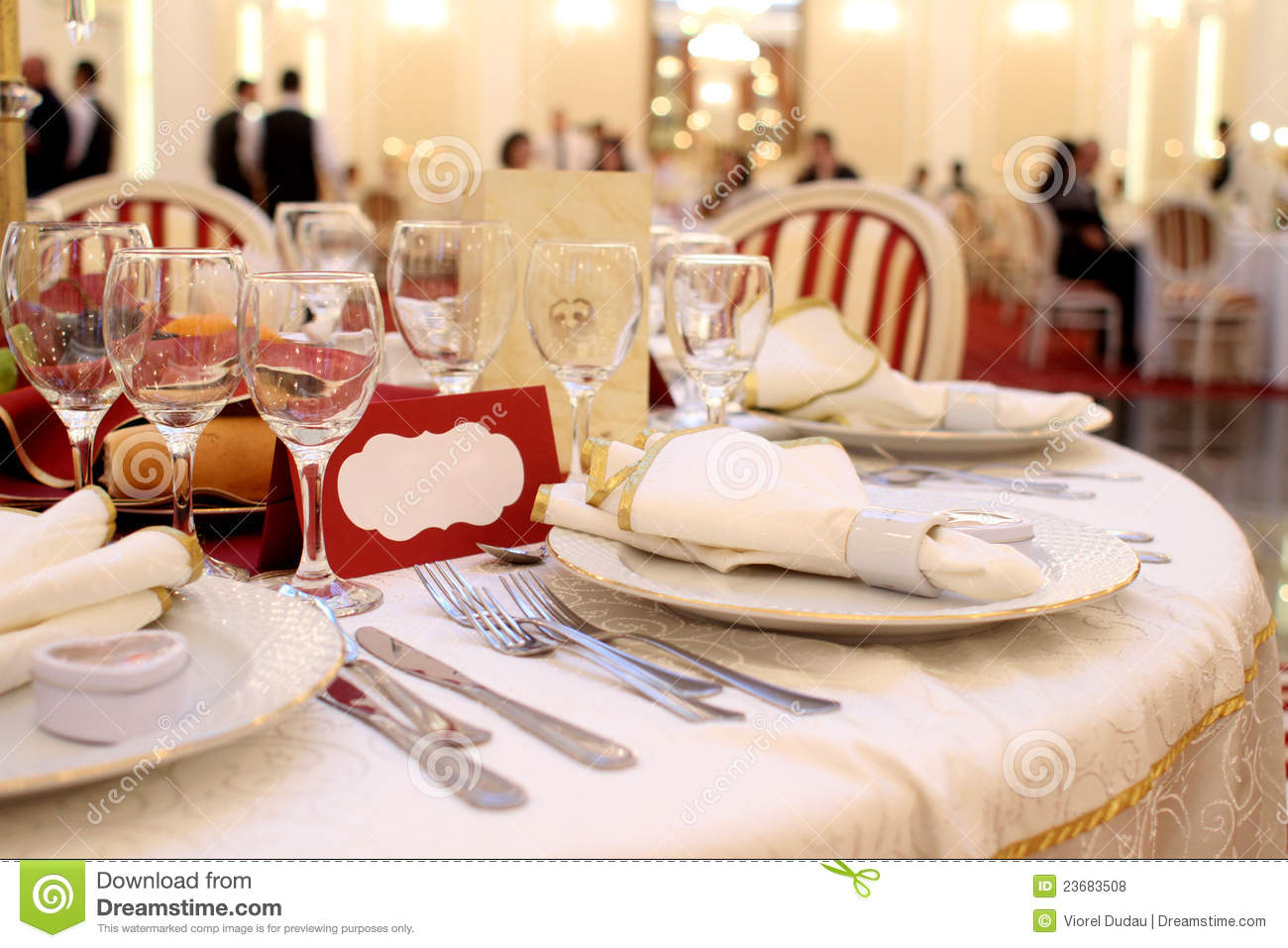 Charming Banquet Table Setting Part - 4: Banquet Dishes Setting Silverware Table ...