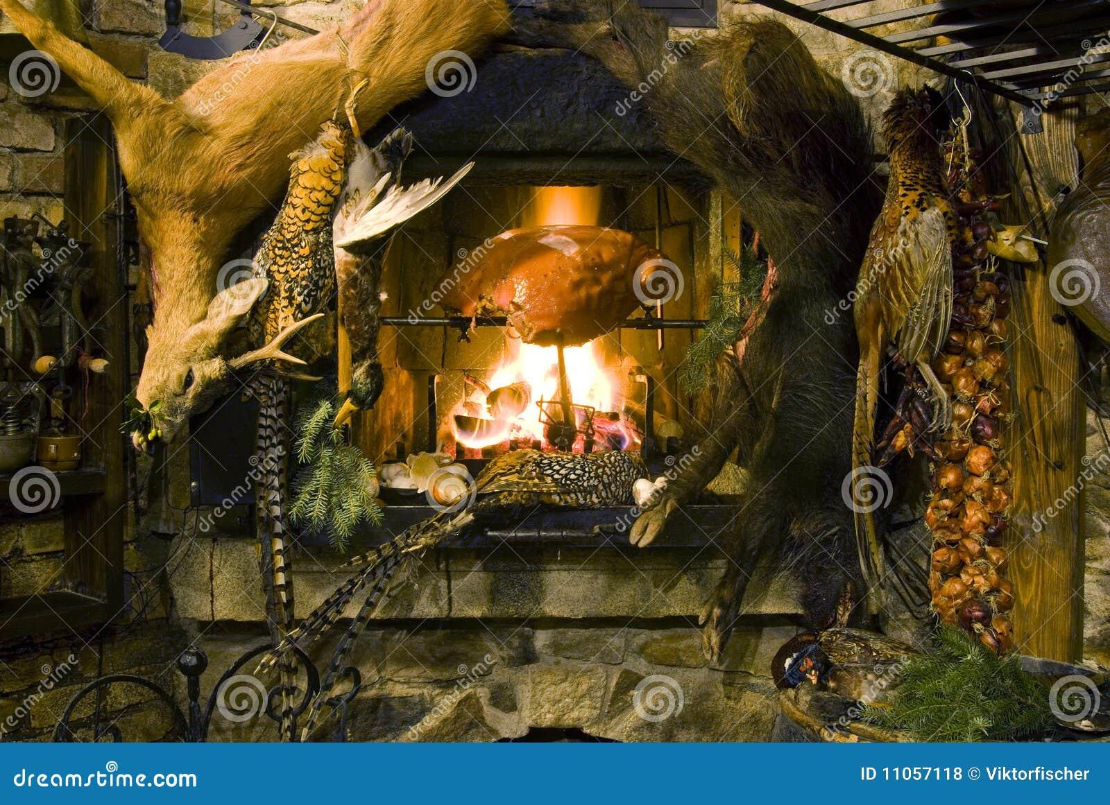 Banquete de la carne de venado