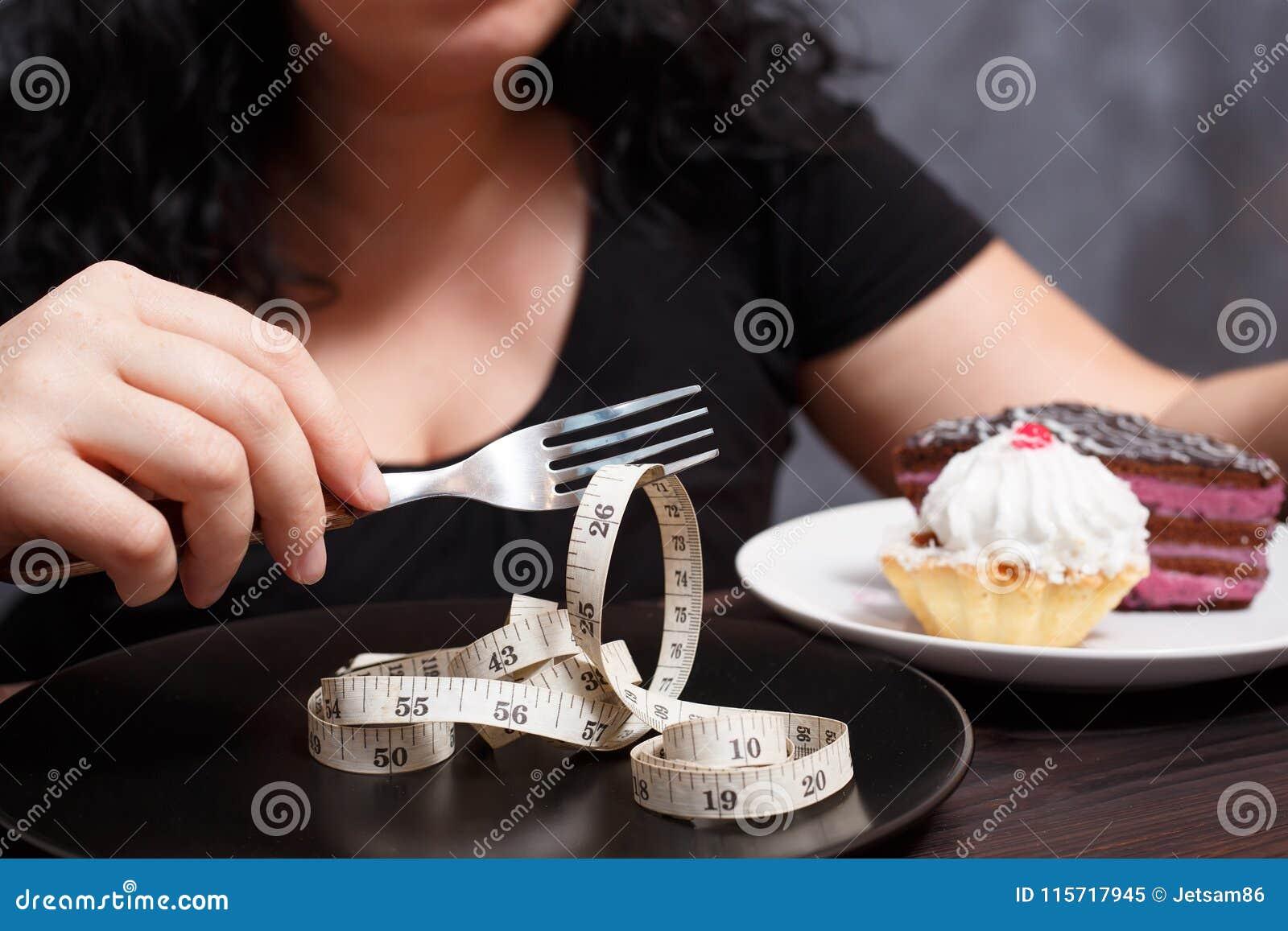 Banta, sunt äta, viktförlust och banta kroppbegreppet Overwei