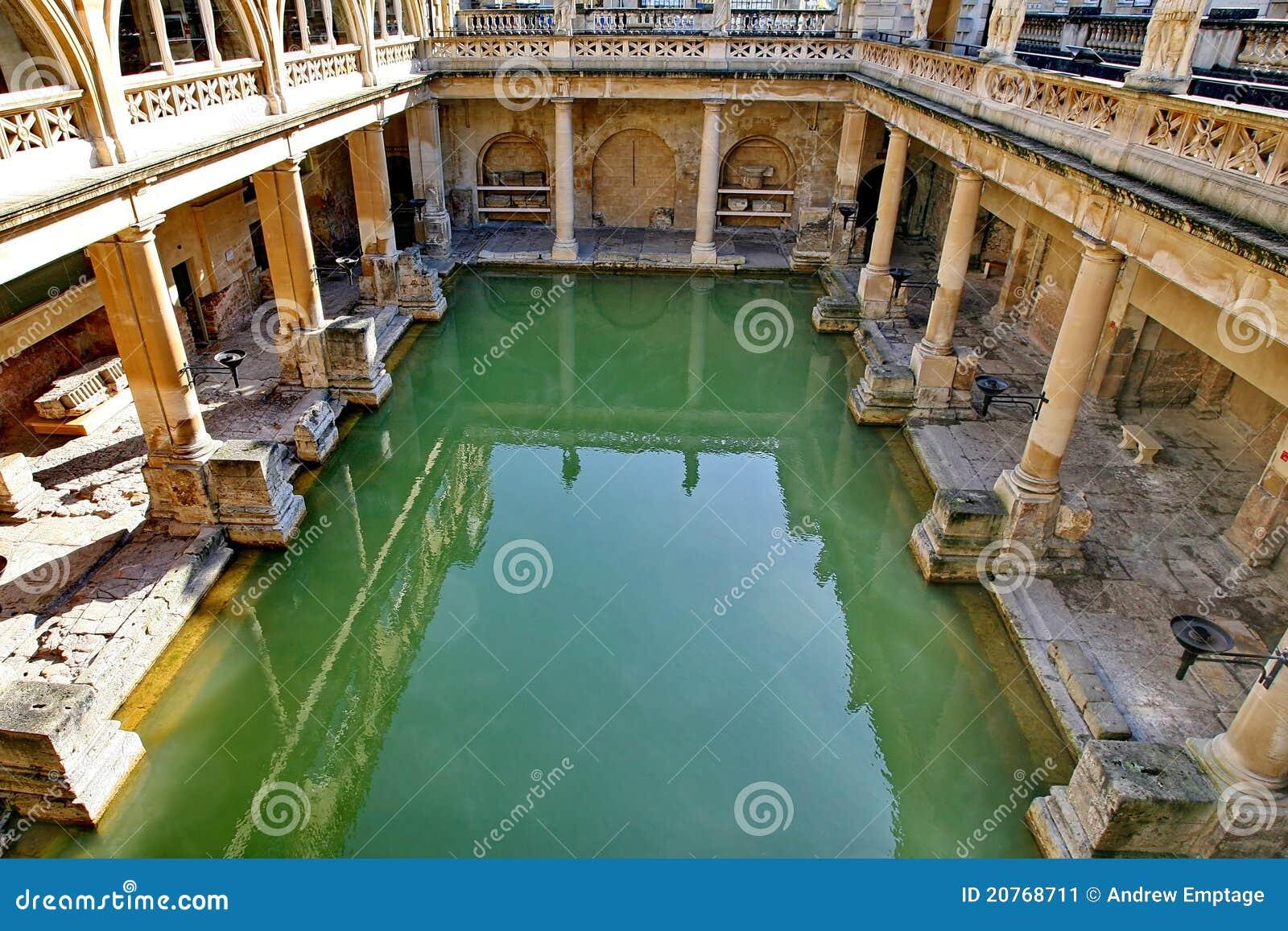 Baños Romanos Luisiana:Roman Baths England