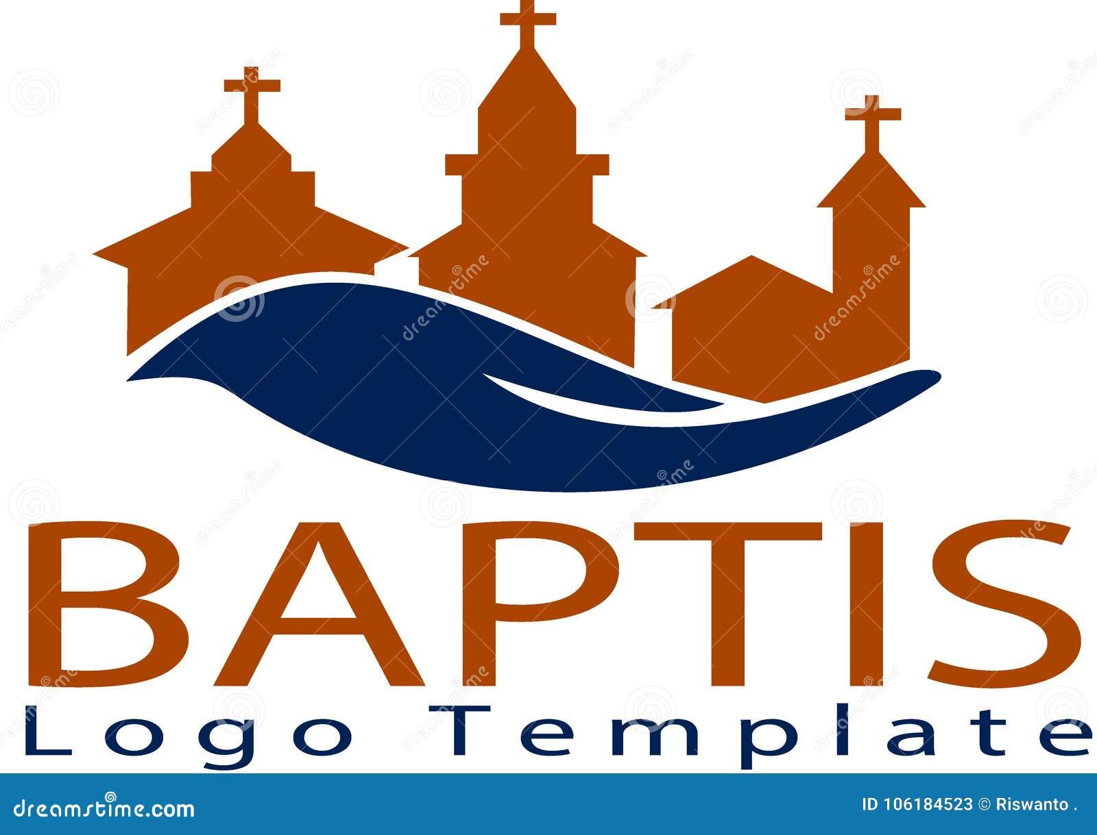 Baptiskerk en embleemmalplaatje