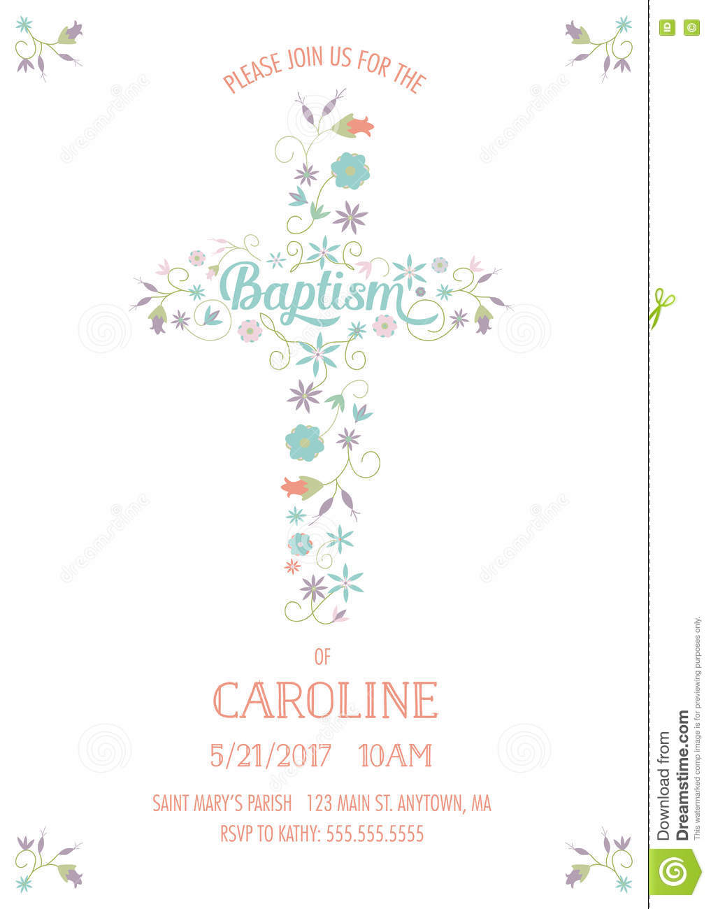 baptism card template pictures great sample christening invitation