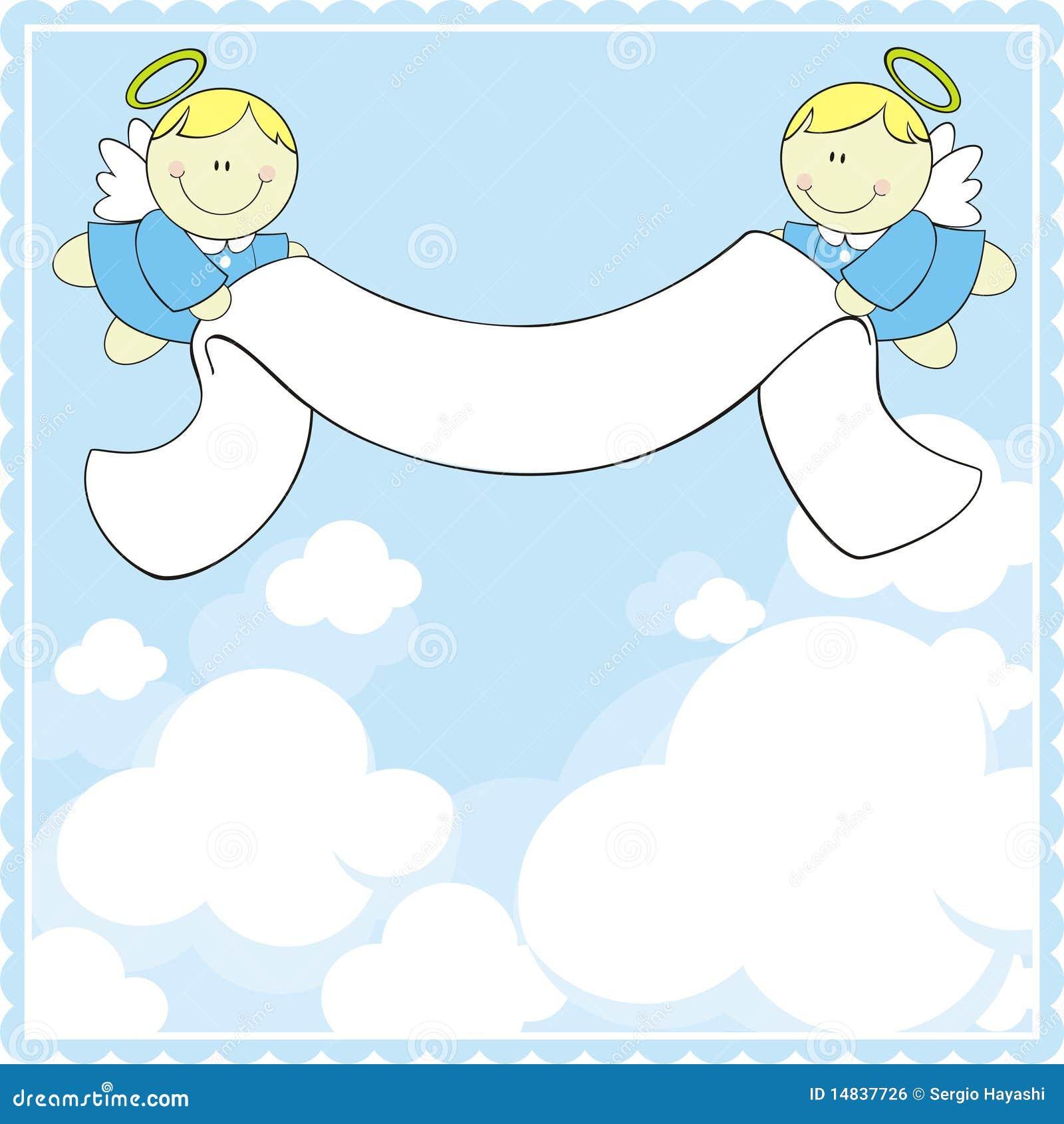 baptism greeting card stock vector illustration of cherub clipart free vintage cherub clipart