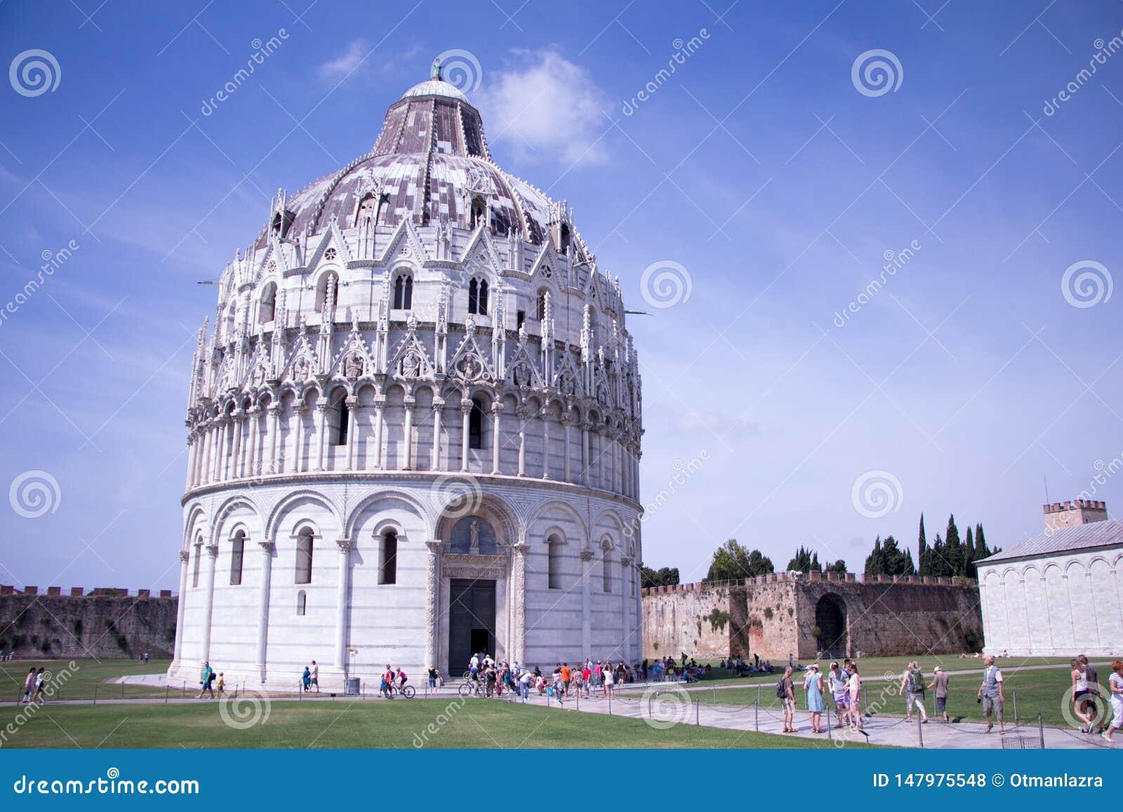 Baptistery de Pisa de St John