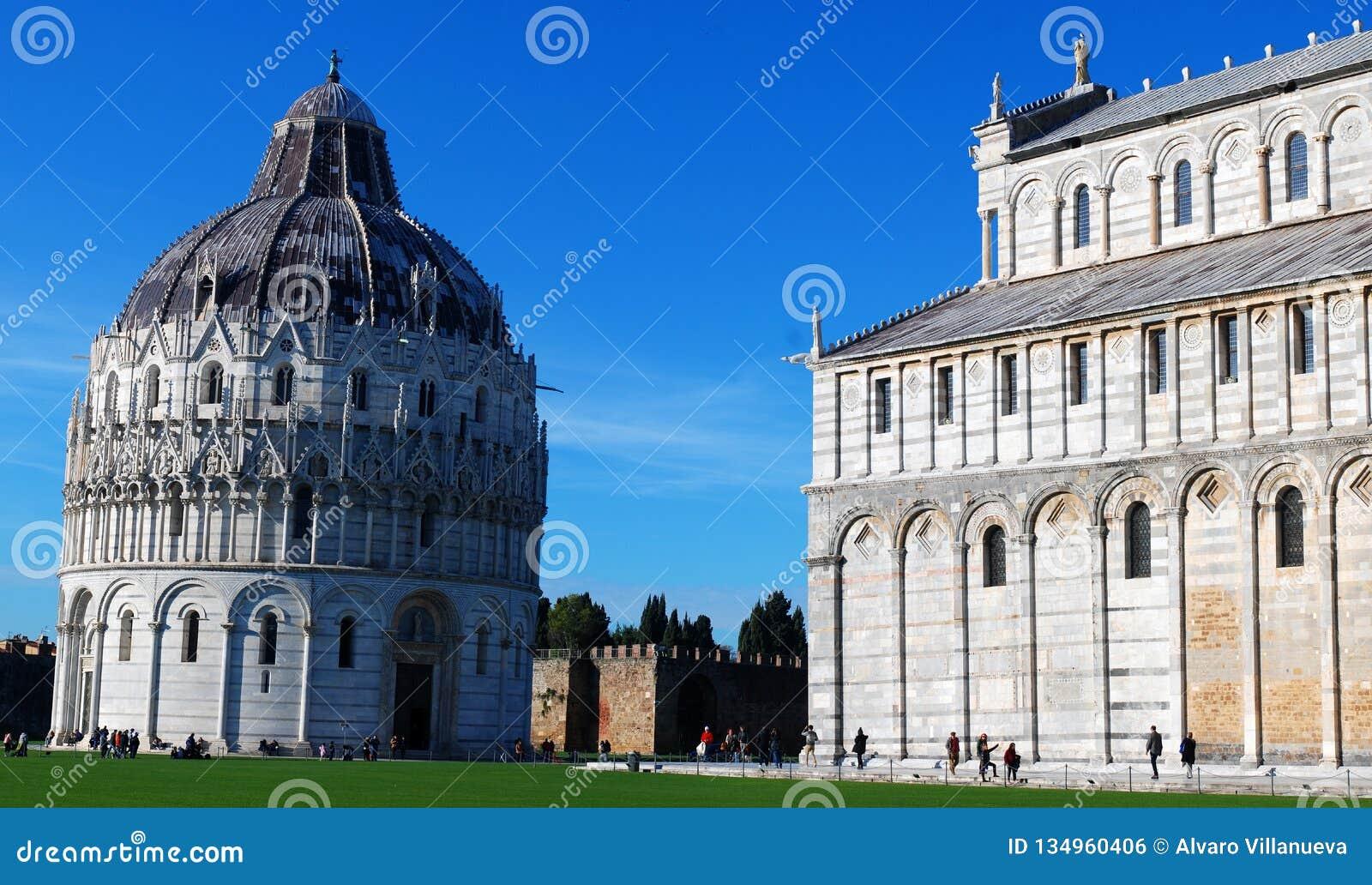 Baptistery Of St. John Battistero Di Pisa In Pisa, Italy ...