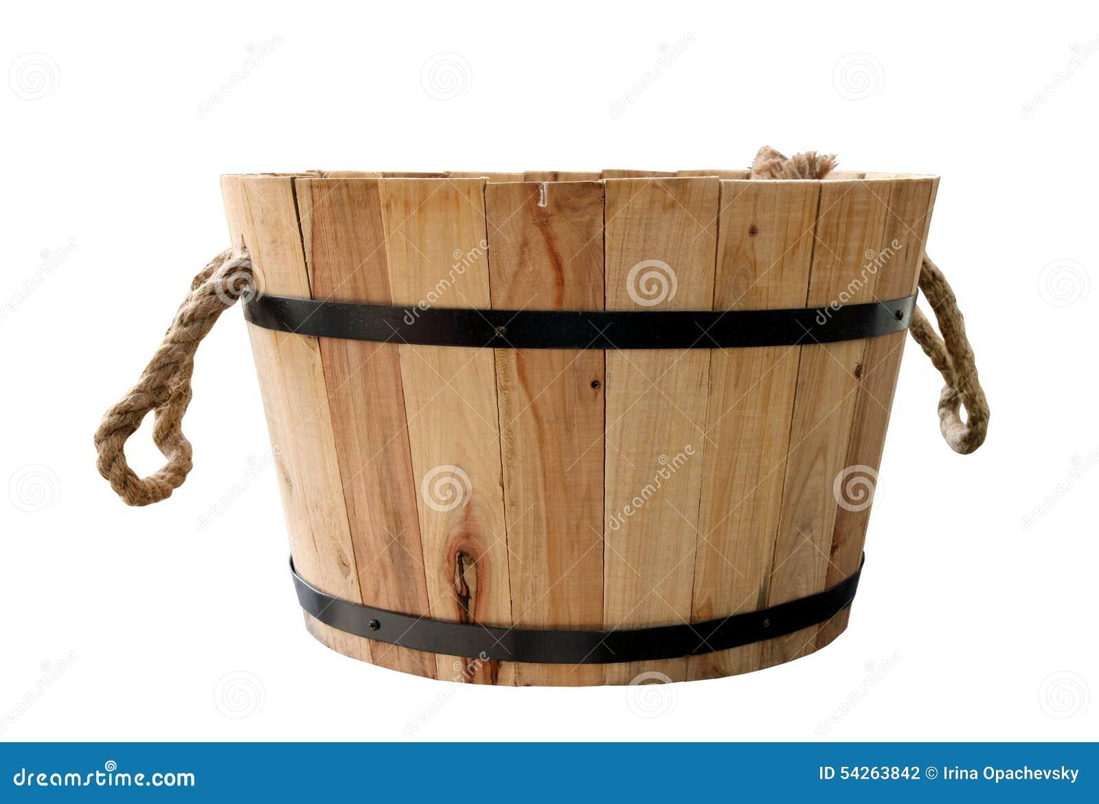Baquet en bois photo stock image 54263842 - Baquet en bois jardin ...