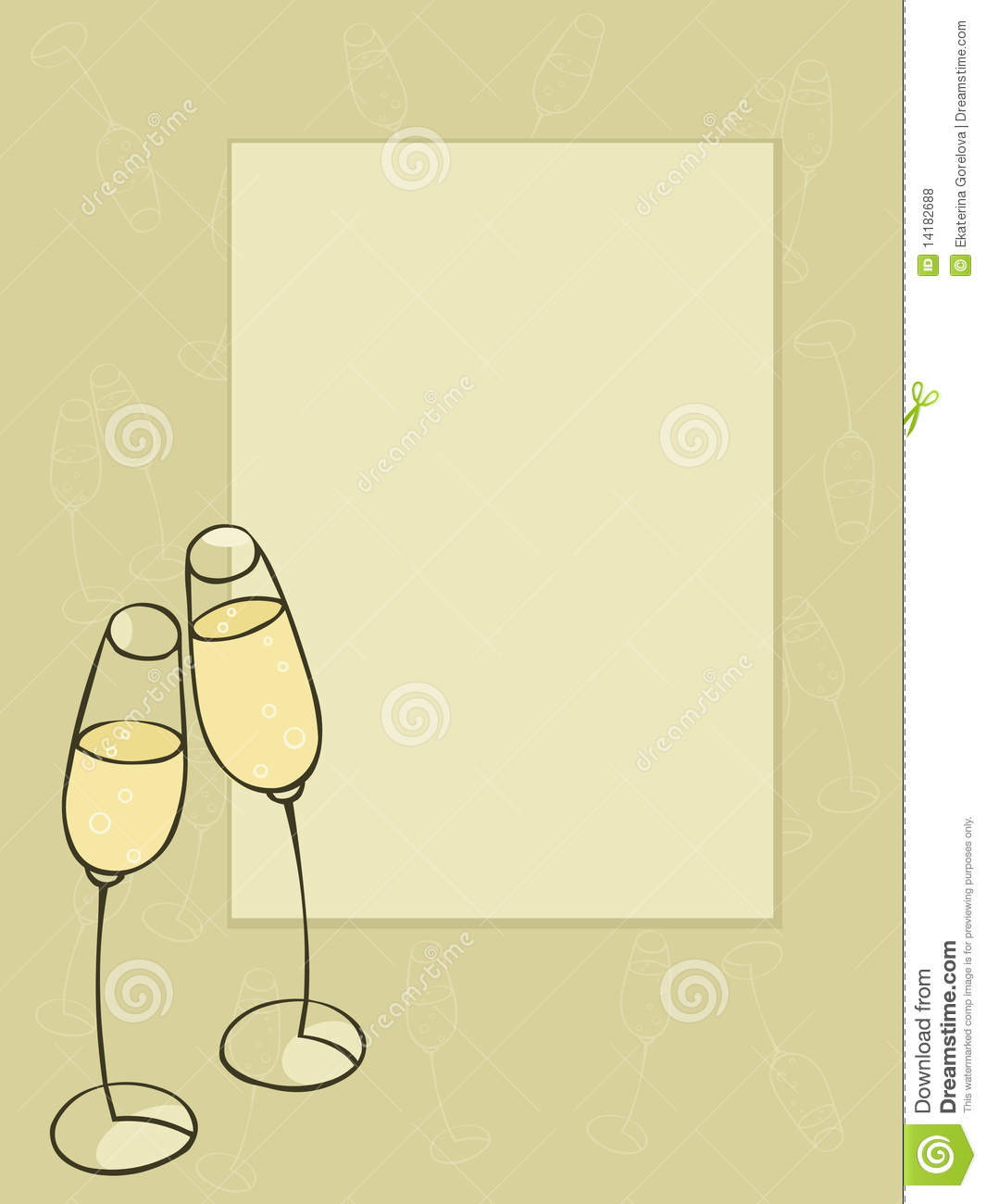 bar stock vector. illustration of alcohol, glasses, drawing - 14182688