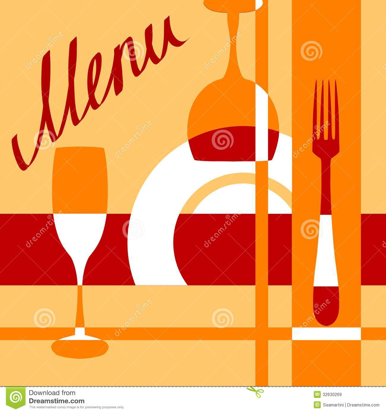 bar or cafe menu cover background stock vector - illustration of