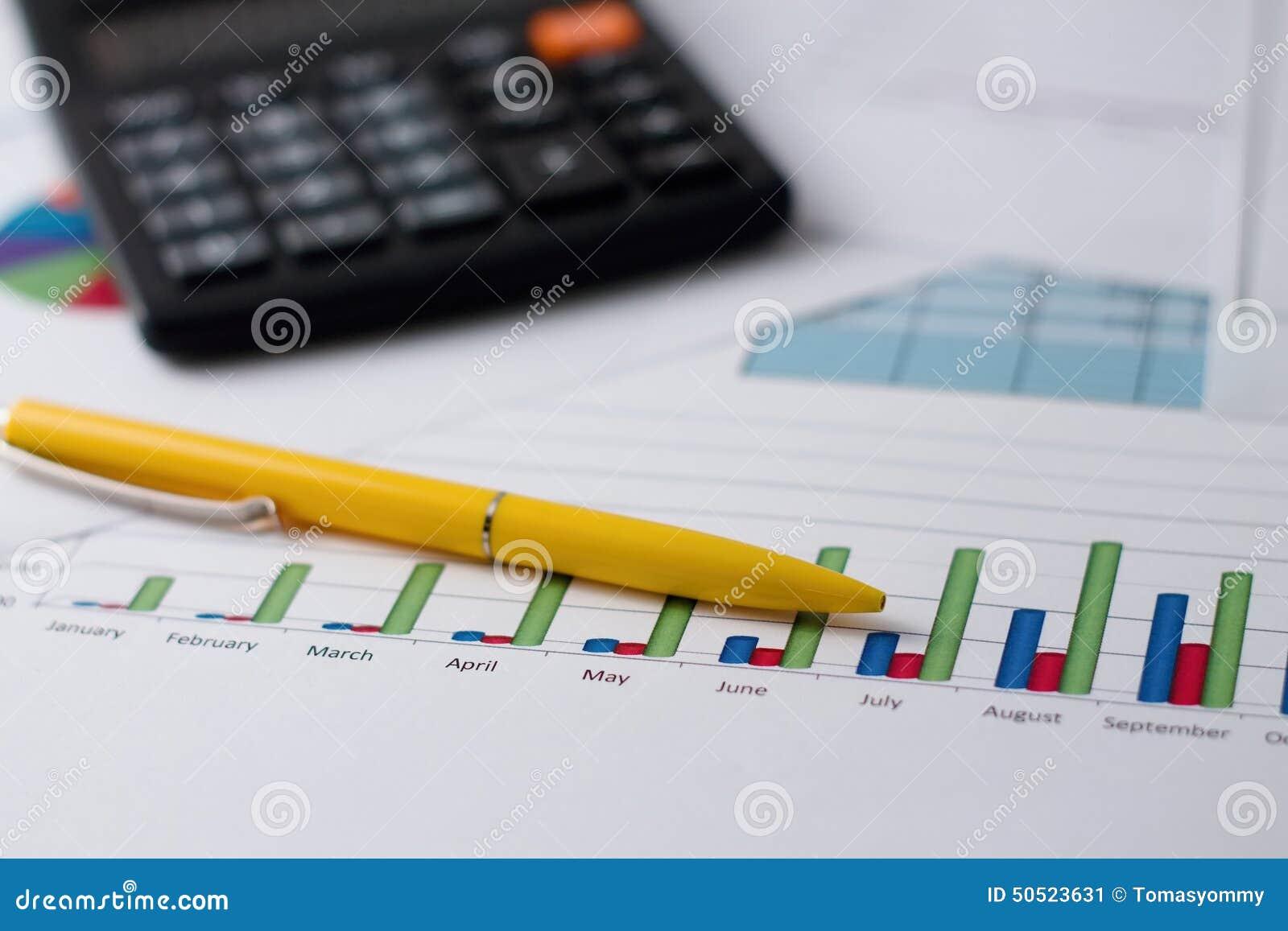 Bar chart on paper sheet pen and calculator stock image image of bar chart on paper sheet pen and calculator ccuart Image collections