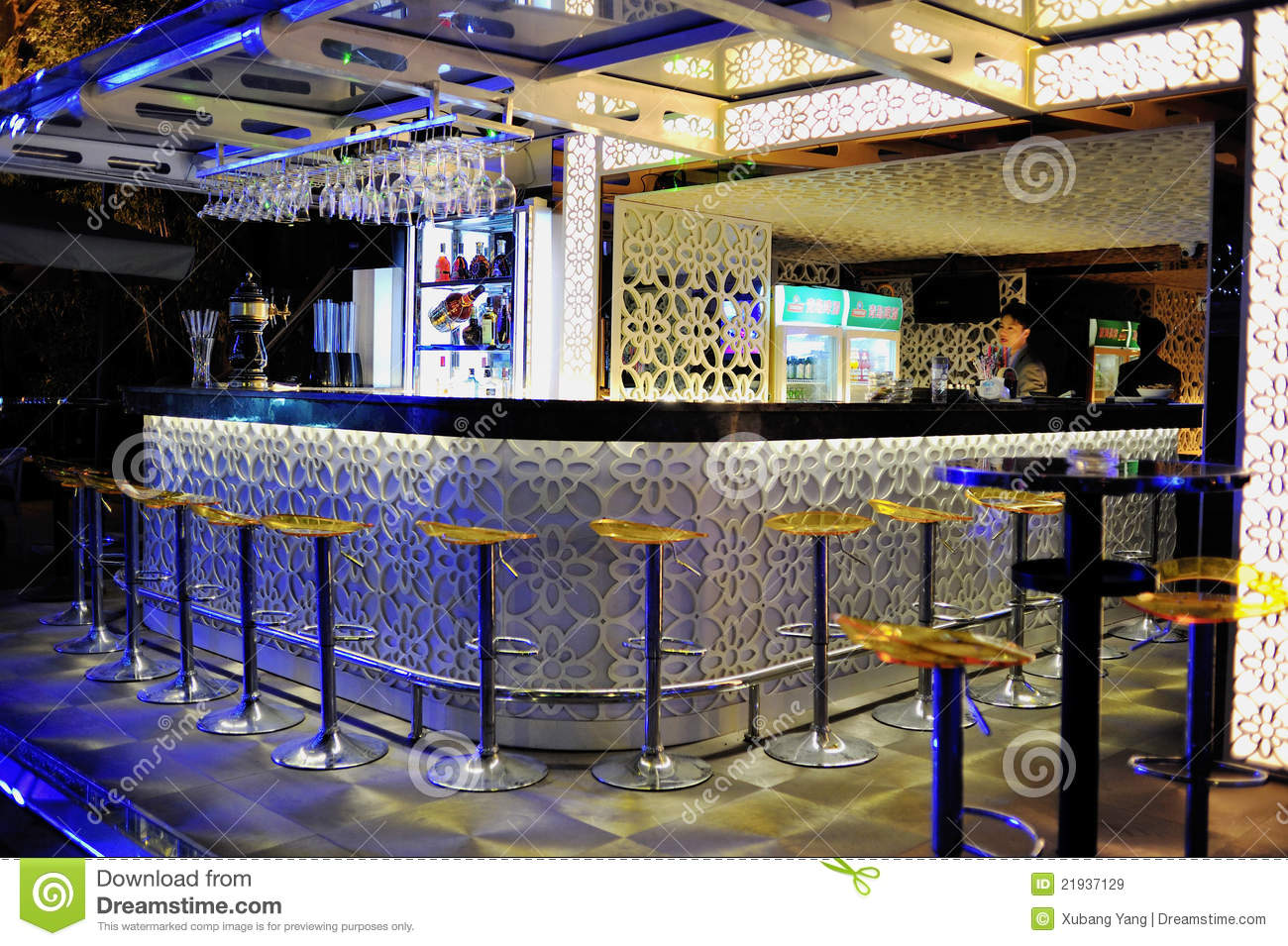 Bar Counter Editorial Stock Image Image 21937129