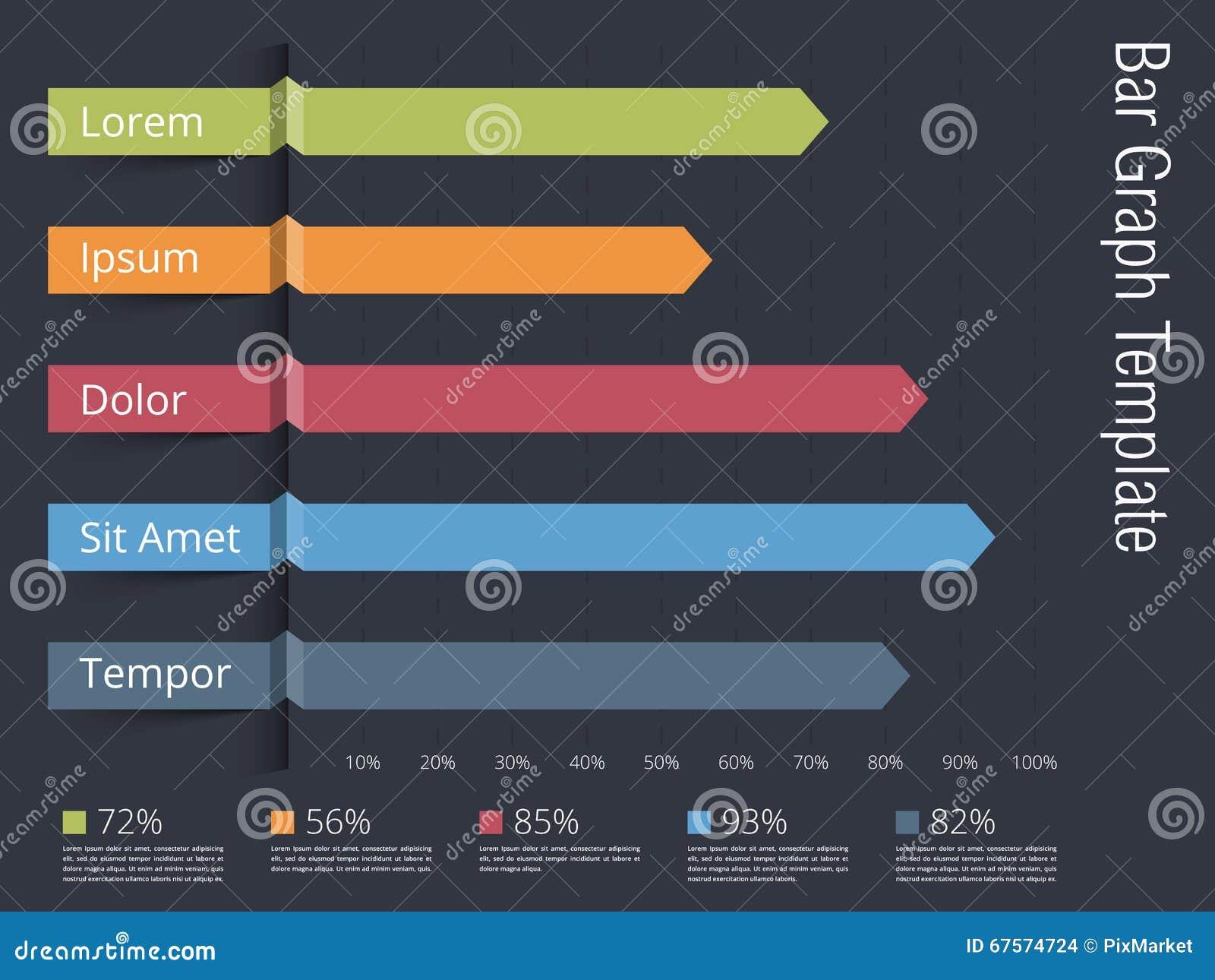bar graph stock vector. illustration of chart, diagram - 67574724