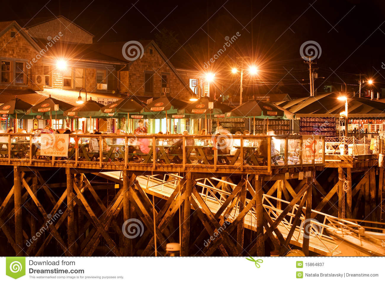 Bar Harbor waterfront editorial photography. Image of ...