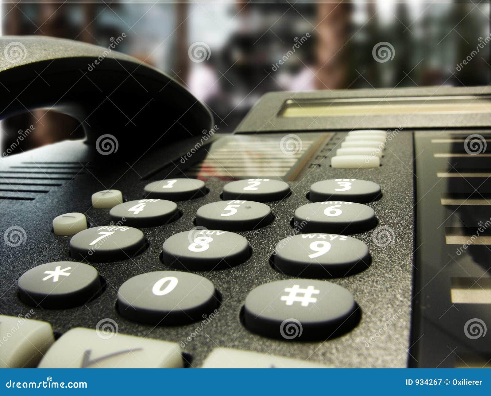 Bar hotelu telefon