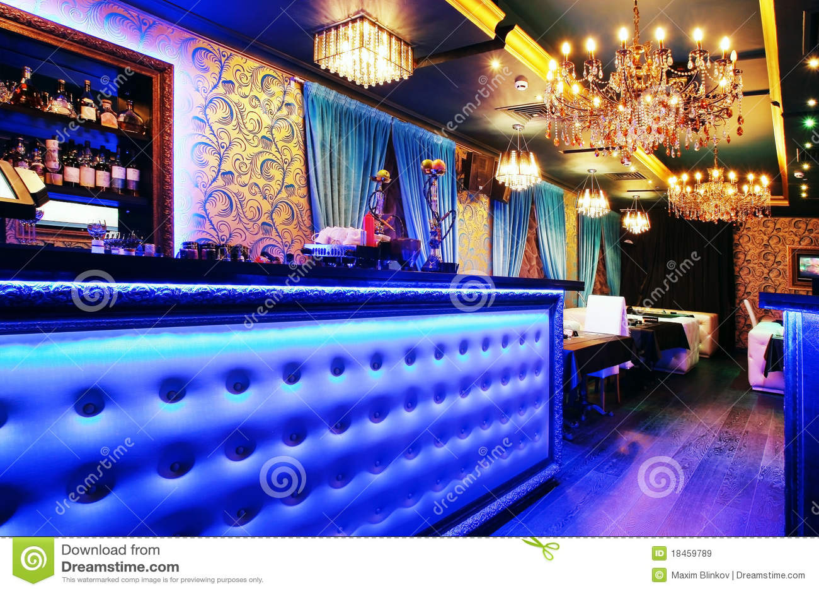 Bar interioren