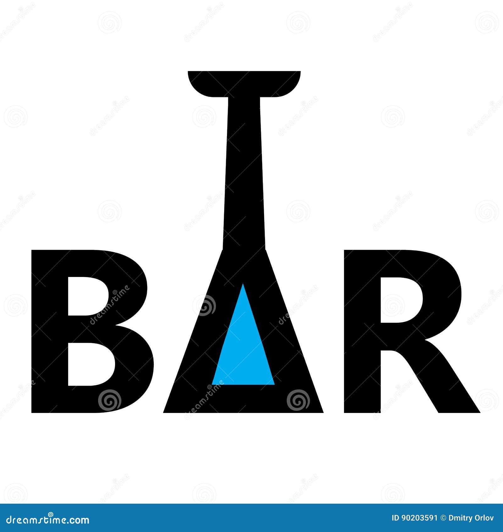 Bar logo elements for wine shop bar restaurant stock illustration bar logo elements for wine shop bar restaurant biocorpaavc Gallery