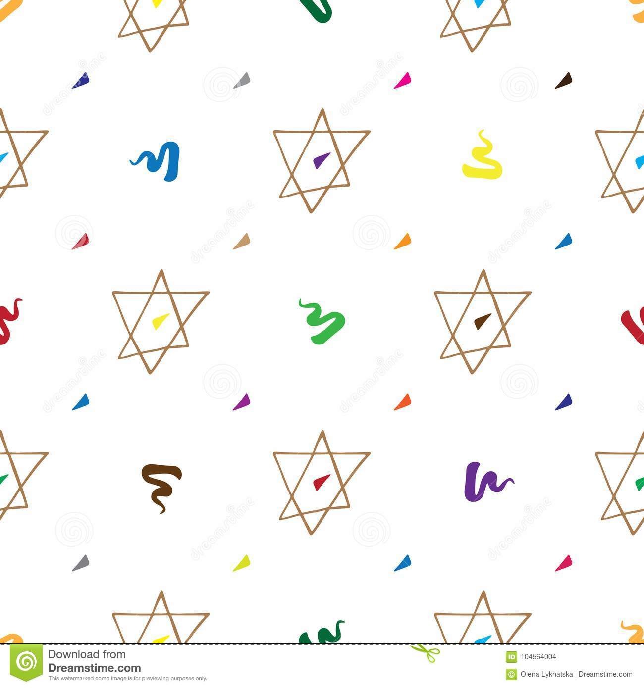 Bar mitzvah pattern hand drawn stock vector illustration 104564004 bar mitzvah pattern hand drawn biocorpaavc Gallery