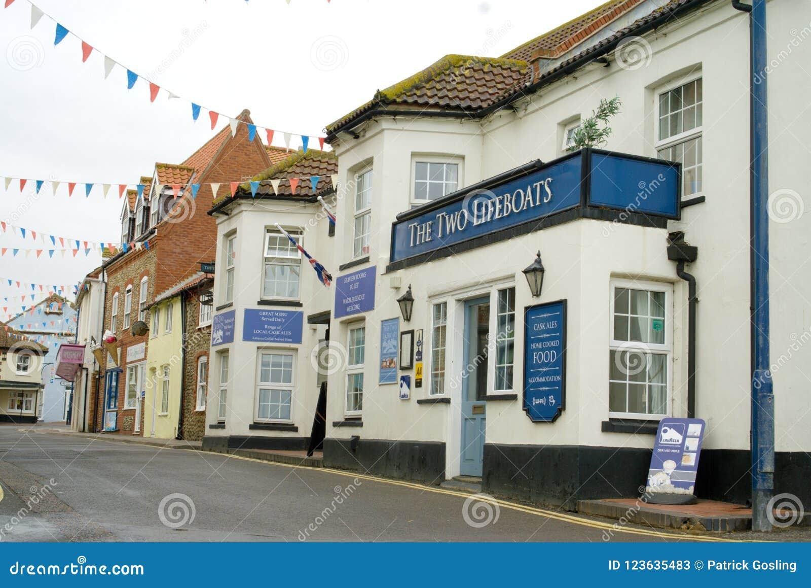 Bar och stugor i Sheringham