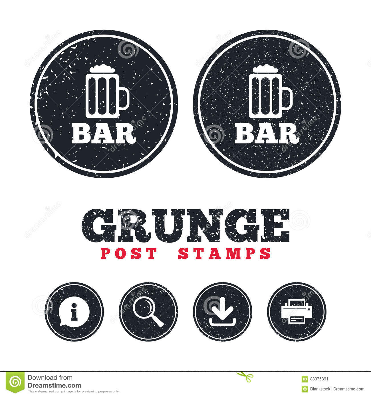 Bar or pub sign icon glass of beer symbol stock vector image bar or pub sign icon glass of beer symbol biocorpaavc