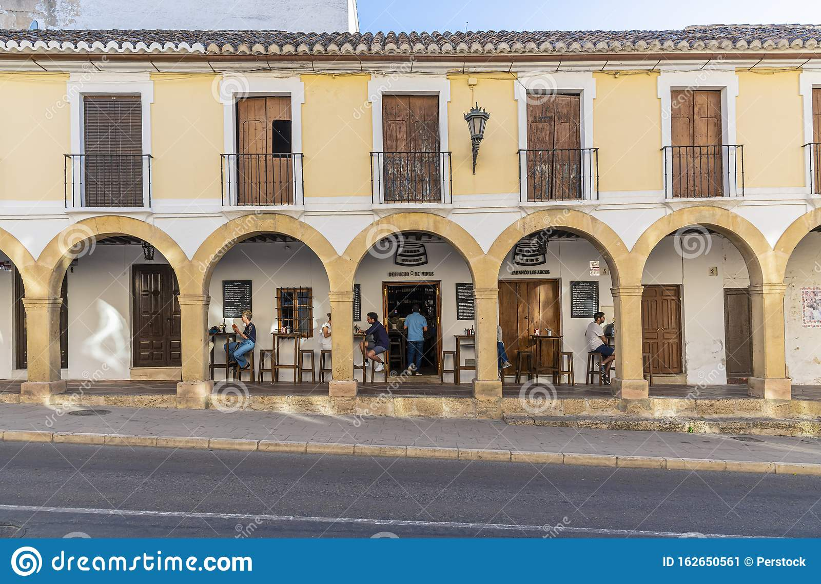 Bar And Restaurant With Outdoor Seating Ronda Spain Editorial Photo Image Of Spain Outdoor 162650561
