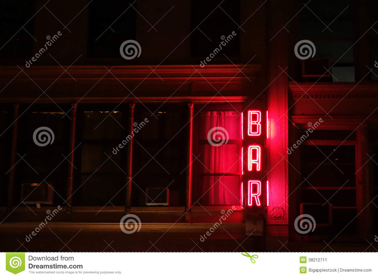 Download Bar Sign stock image. Image of liquor, beverages, hospitality - 38212711