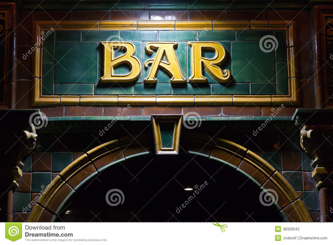 Download Bar sign stock image. Image of friday, decorative, local - 38328043