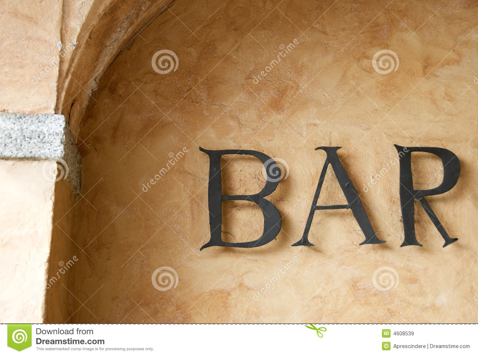 Download Bar sign stock image. Image of illuminated, club, city - 4608539