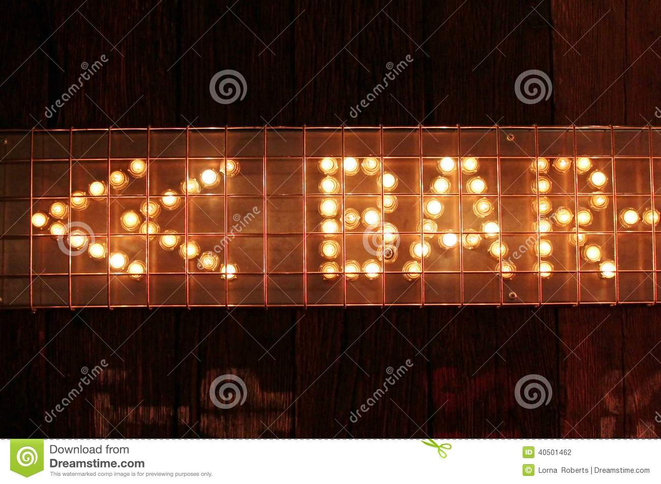 Bar sign lights neon stock photo image of angle close 40501462 bar sign lights neon aloadofball Image collections