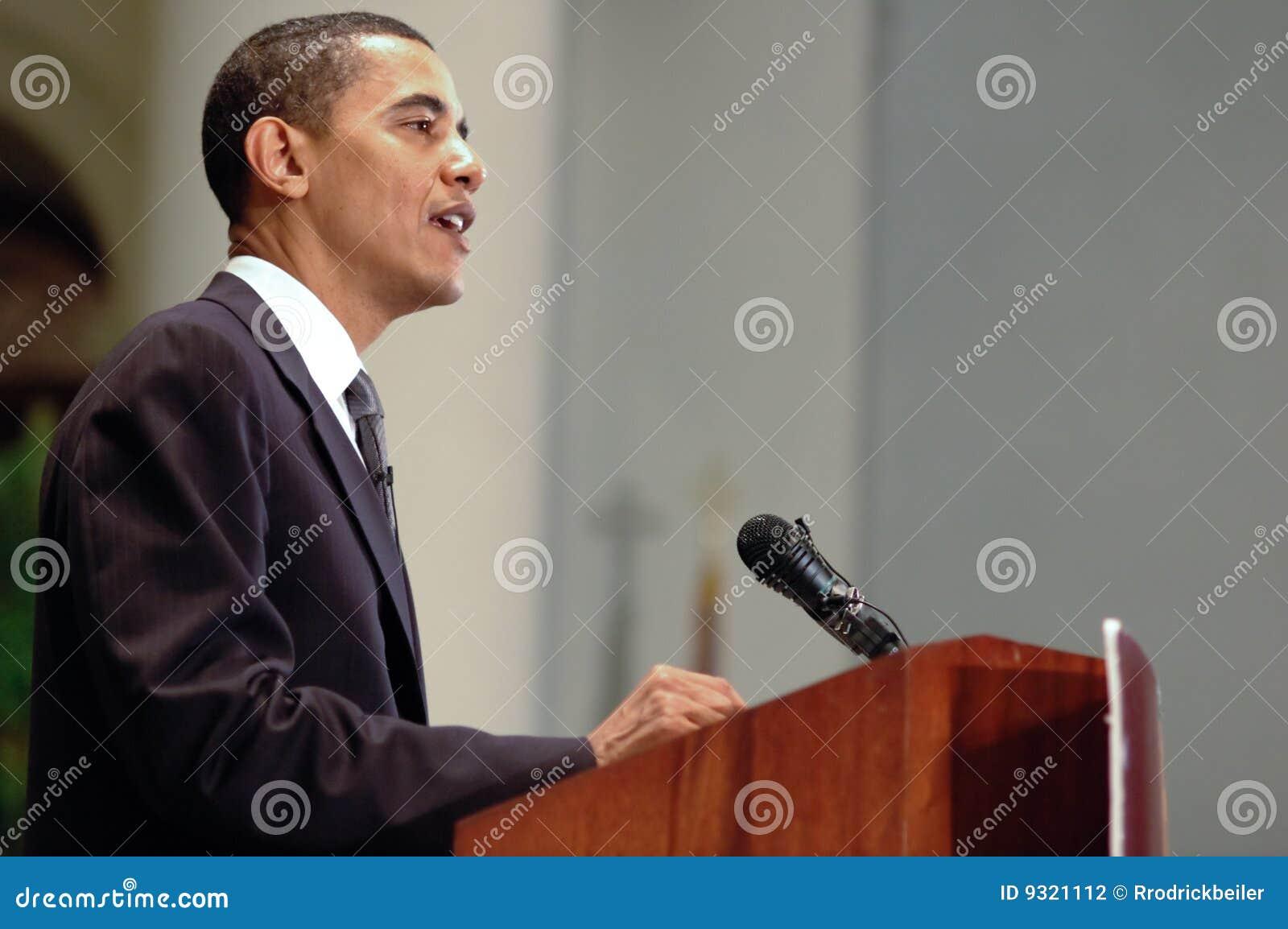 Barack Obama editorial photography  Image of church, speech