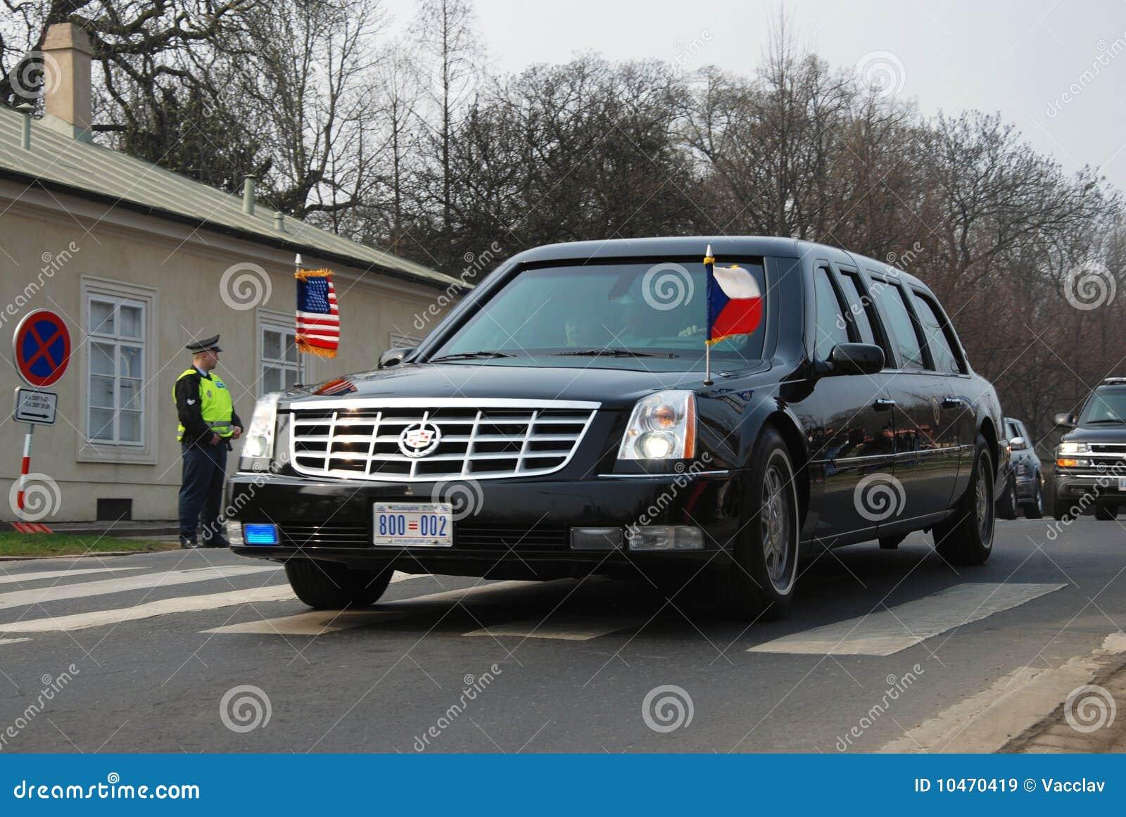 barack obama car editorial stock image image 10470419. Black Bedroom Furniture Sets. Home Design Ideas