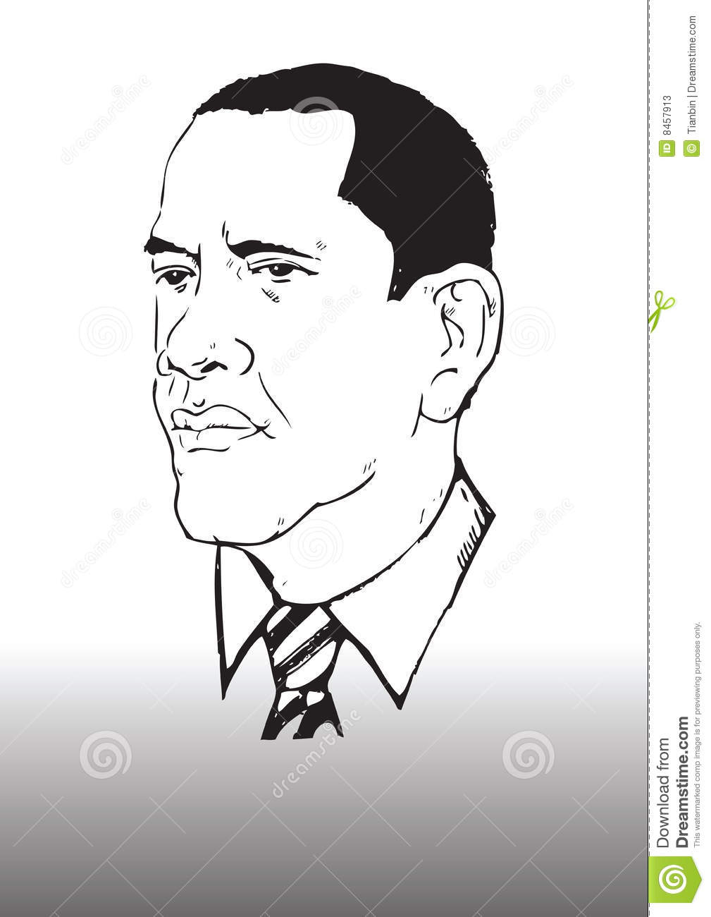 how to draw obama caricatures