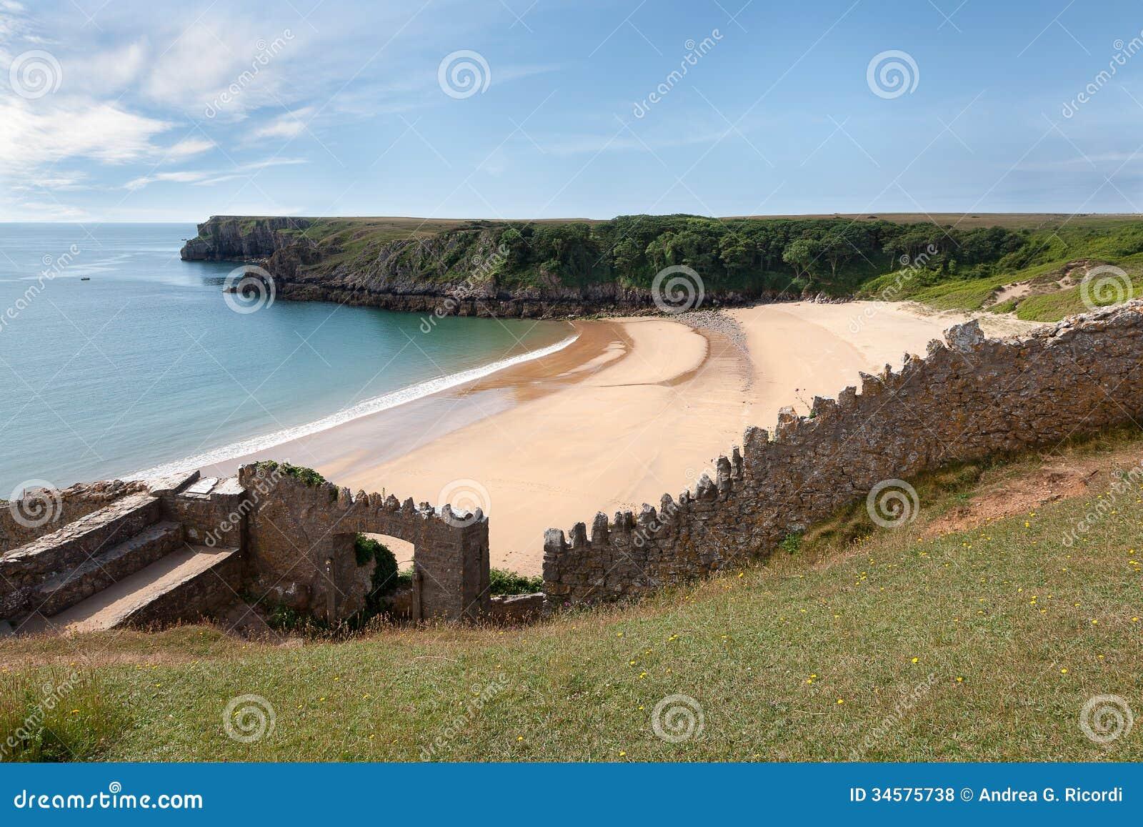 Sandy Coast - Stone Wall