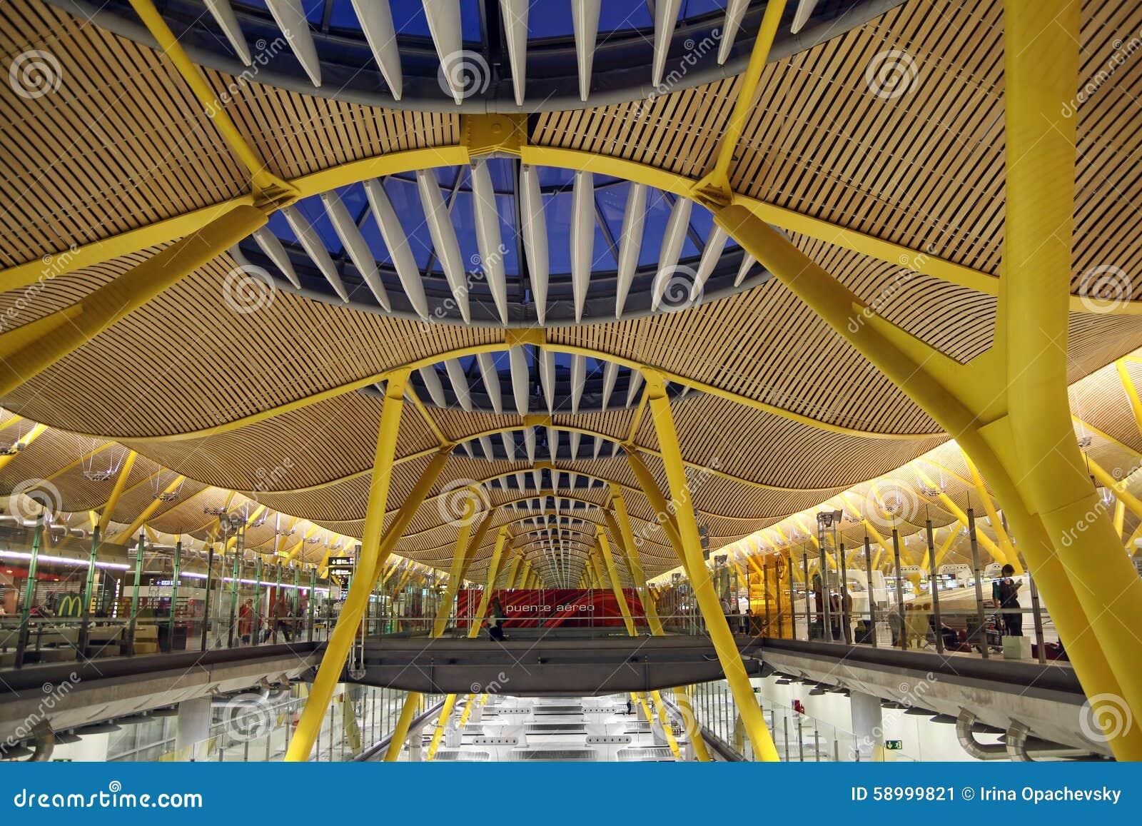Barajas lotnisko madryt zdj cie editorial obraz 58999821 - Terminal ejecutiva barajas ...
