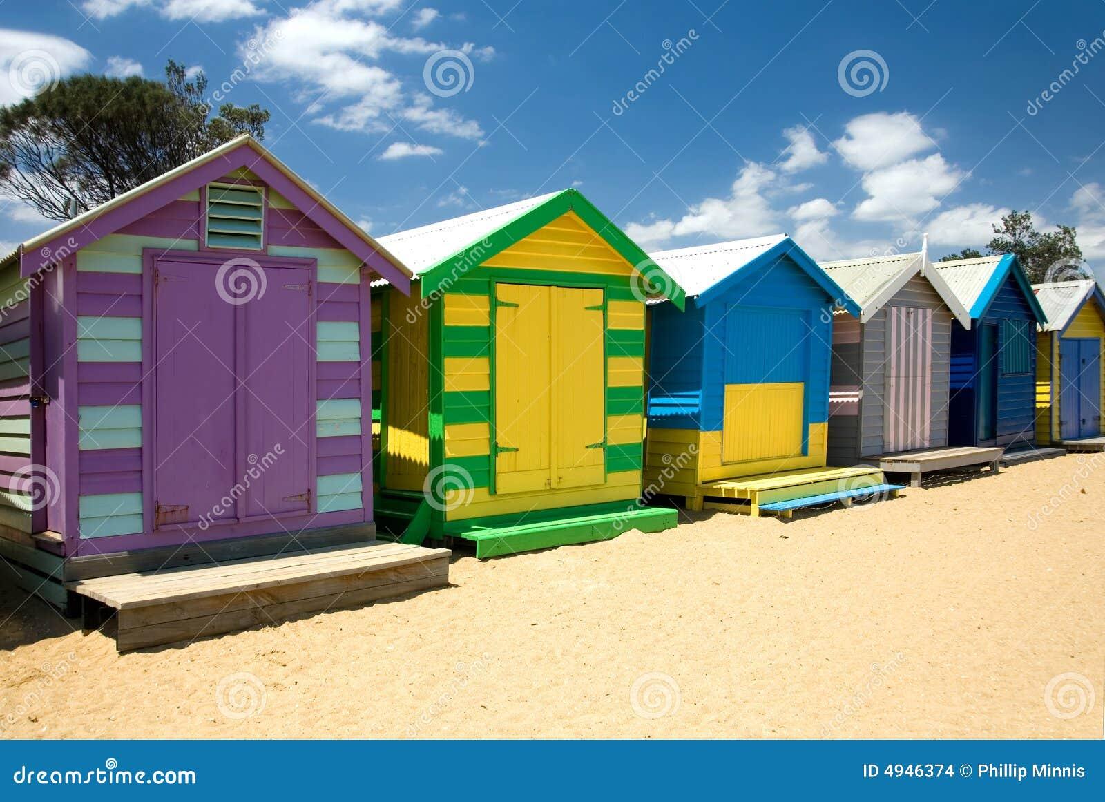 Baraki plażowych