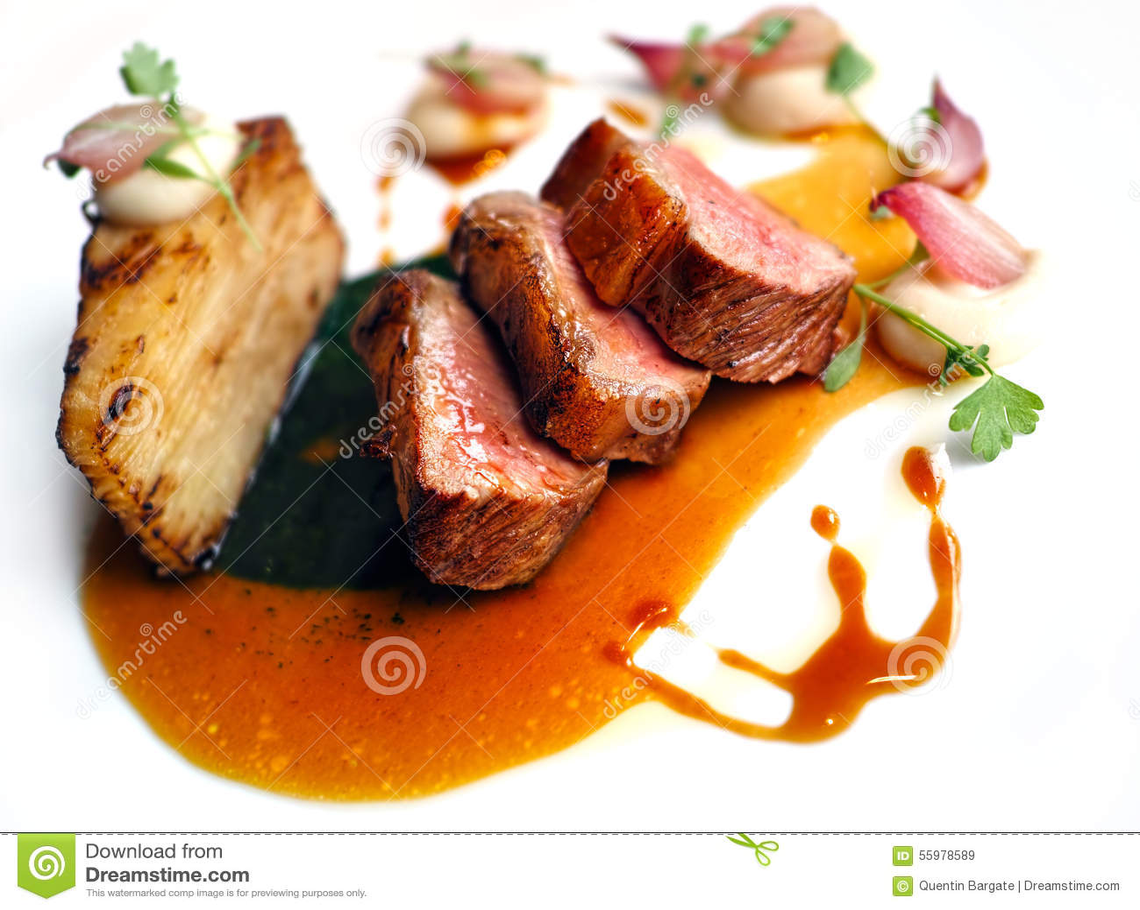 Baranka polędwicowy wyśmienity posiłek