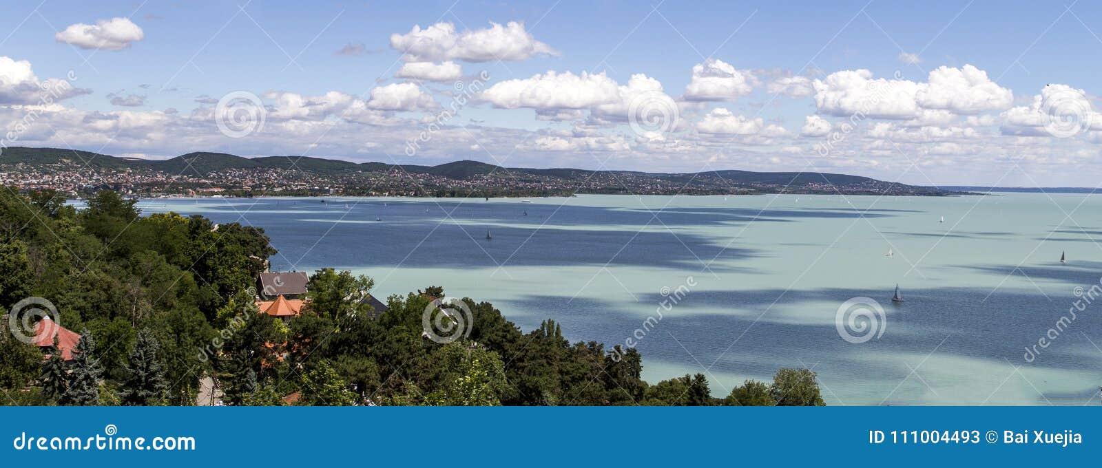 Baraton del lago a Budapest, Ungheria