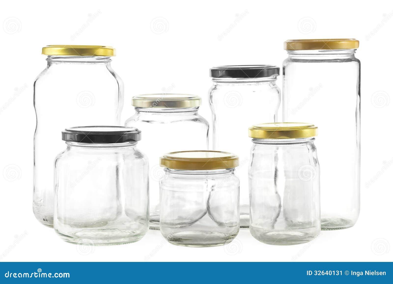 Barattoli di vetro vuoti immagine stock immagine di vetri 32640131 - Barattoli vetro ikea ...