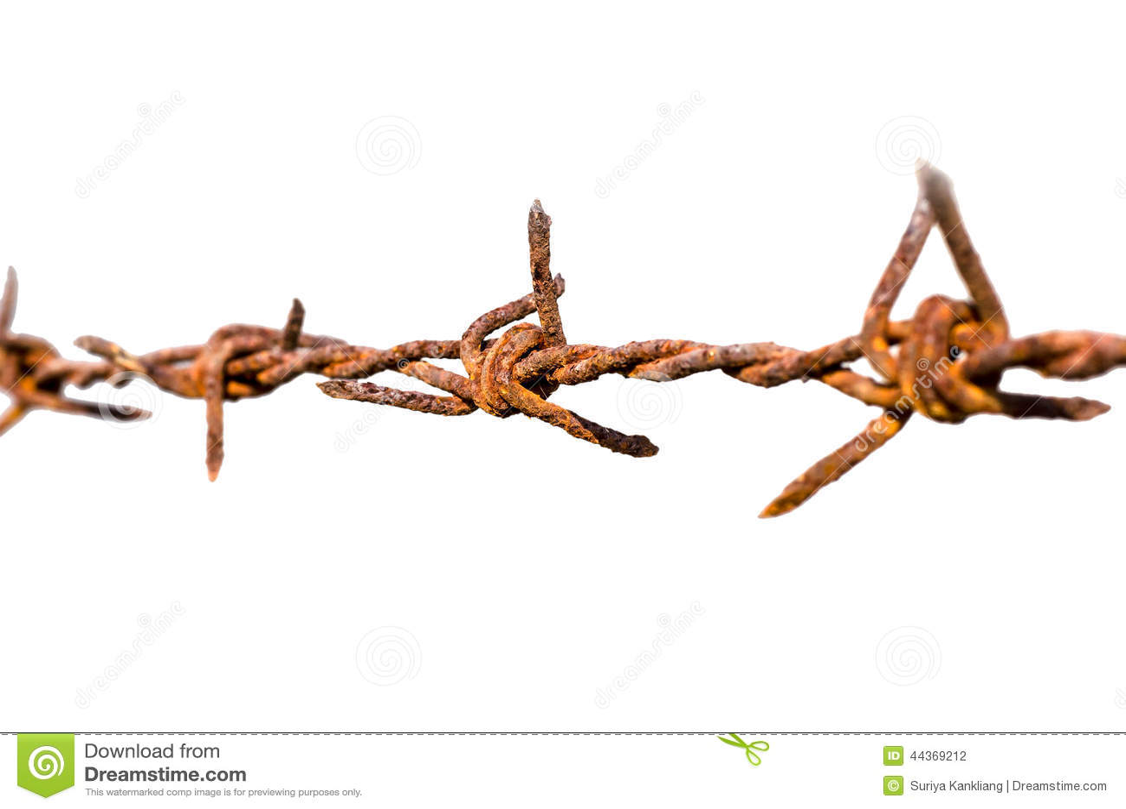 Barb Wire arrugginito