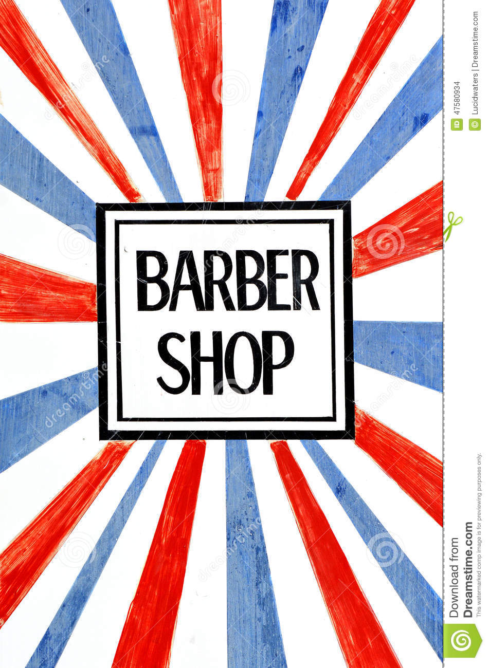 Barber Shop Plano : Sinal da barbearia e s?mbolo, foto do conceito Copie o espa?o.