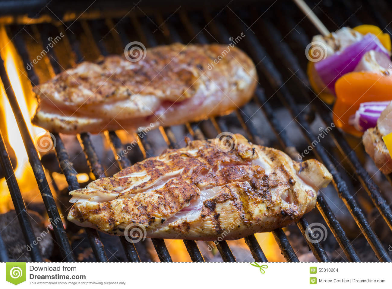 Barbecue Stock Photo - Image: 55010204