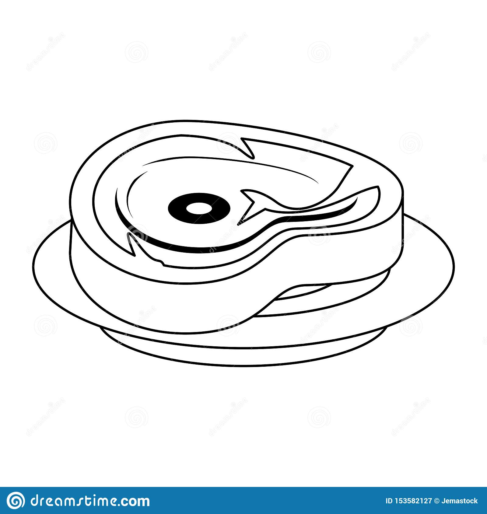 barbecue beef cut of meat food isolated in black and white stock vector illustration of restaurant roasted 153582127 https www dreamstime com barbecue beef cut meat food isolated vector illustration graphic design barbecue beef cut meat food isolated black image153582127